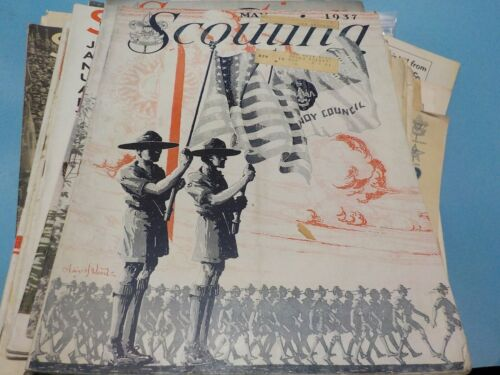 Vintage Scouting Magazine:  May, 1937