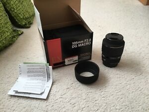 Sigma 105mm 2.8 Macro lens *Brand New*