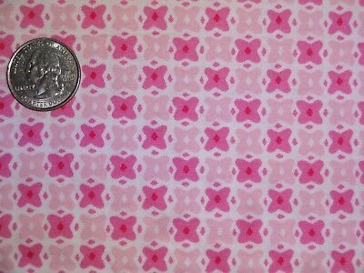 Ткань Pink White check Geometric Fabric