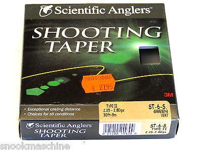 Fliegenschnur Scientific Anglers SHOOTING TAPER ST 6 S   2,77€/m