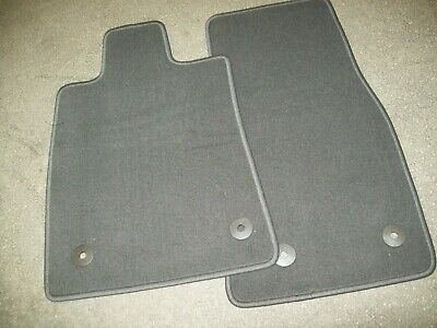 2013-2019 Cadillac ATS Jet Black 4 pc Carpeted Floor Mat Set OEM# 22946894