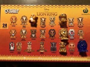 Woolworths Lion King Ooshies Toys Indoor Gumtree