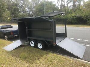 New 2.0t Mowers Trailer Front/Rear/Side/Box's Ramps Lid Au Built