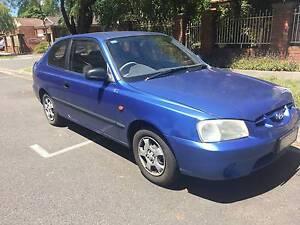 2002 Hyundai Accent Hatchback Croydon Maroondah Area Preview