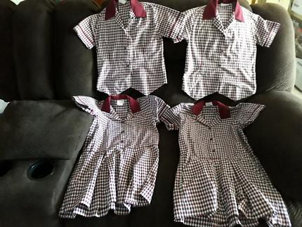 Girls Mount Cotton State School Uniform. Excellent condition