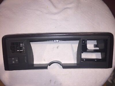 1988 1994 BURGUNDY CHEVY TRUCK TAHOE GAUGE CLUSTER SURROUND BEZEL DASH TRIM