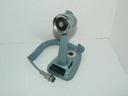 Turner Transistorized SSB +2 Microphone Blue 4 Pin Desk Top Untested