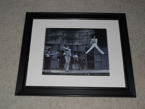 """Large Framed The Who Live on Stage 1969 Keith Moon, Pete Townshend 24"""" by 20"""""""