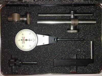 Starrett 811-5cz Dial Test Indicator .0005 With Pivoting Head Full Set