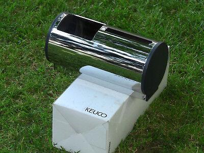 KEUCO 2-fach Toilettenpapierspender WC Papierspender Chrom für 2 Rollen NEU