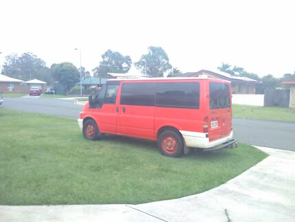 Ford Transit Camper Van - Custom 2006 Red, LOW KM'S
