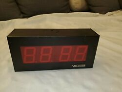 Valcom VIP-D425A - 2.5 Inch Character Digital Clock, 24V - New Other