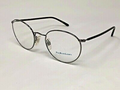 POLO RALPH LAUREN Eyeglasses Frame Italy Polo1113-M 9002 51-20-145 Silver (Us Polo Glasses)