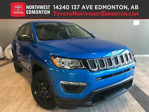 2018 Jeep Compass Sport | 4X4 | Multi Terrain | Bluetooth | Wint