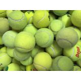100 Used Tennis Balls - Free Ground Shipping - Dog Toys