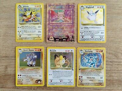 x20 Mixed 1999-2003 Pokemon Cards Bundle-each contains at least 1 SHINY or PROMO