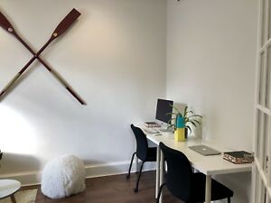 120SF Furnished Office For Short Term Sublet
