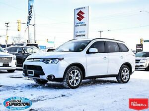 2015 Mitsubishi Outlander ES AWD ~Heated Leather ~Power Moonroof