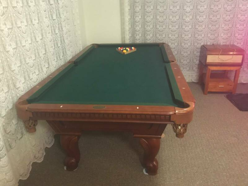 Cannon Pool Table Other Furniture Gumtree Australia Latrobe - Cannon pool table