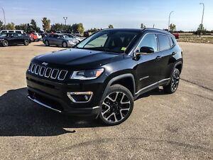2018 Jeep Compass Limited   PANORAMIC SUNROOF   NAVI   LOADED