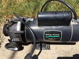 Hot tub pump 2HP
