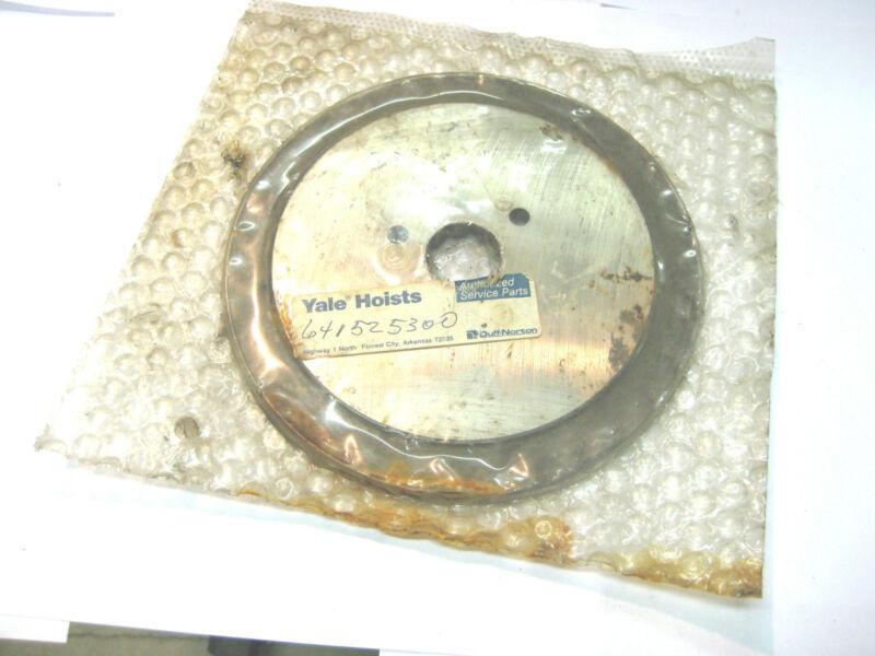 Yale 641525300 Ratchet Disc BEW Chain Lift Hoist Spare Bridge Crane drive Parts