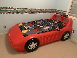 Little Tykes Red Racecar Bed