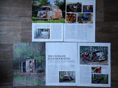 VW TRANSPORTER 1952 Barn Find - Classic Restoration Article