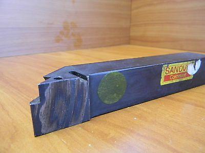 Sandvik Indexable Lathe Tool Holder Tlrr-163d J6m 1x1 Shank. 6 Oal