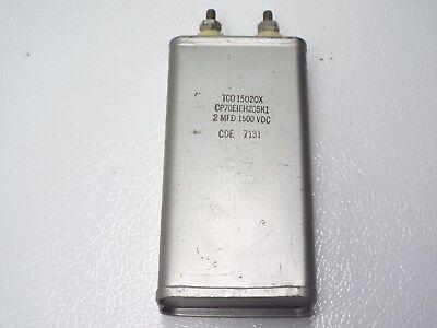 High Voltage Oil Filled Capacitor 2uf 1500v