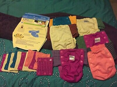 GroVia One-Size MY CHOICE TRAINING PANTS Pull-up Trainers  lot of 6