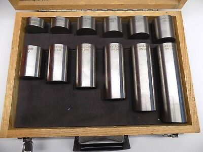 Ph Tool Reference Standards 12 Pc Titanium Astm Distancearea Amplitude Test Set