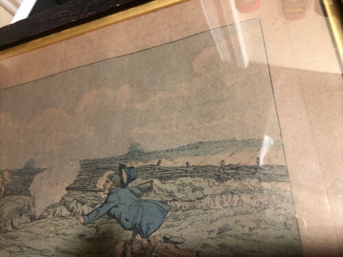 Henry Thomas Alken 1785-1851 - Early 19th Century Etching 1816 From Misery - $17.50