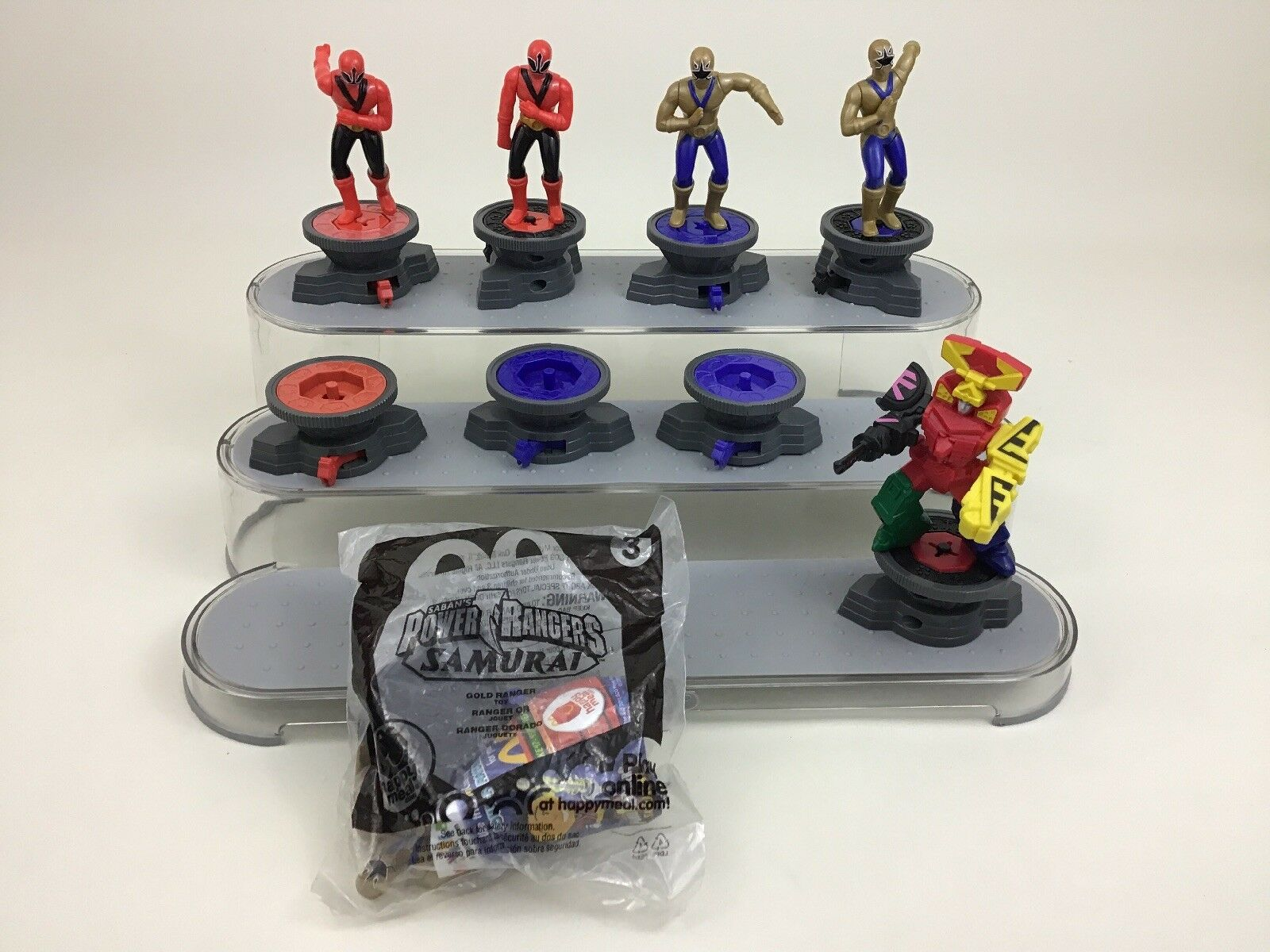 Power Rangers Samurai 15Pc Lot Mighty Morphin Toy 4.5