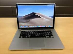 "2015 15"" MacBook Pro Quad-Core i7 16GB RAM 256GB SSD Turbo 3.4GHz"