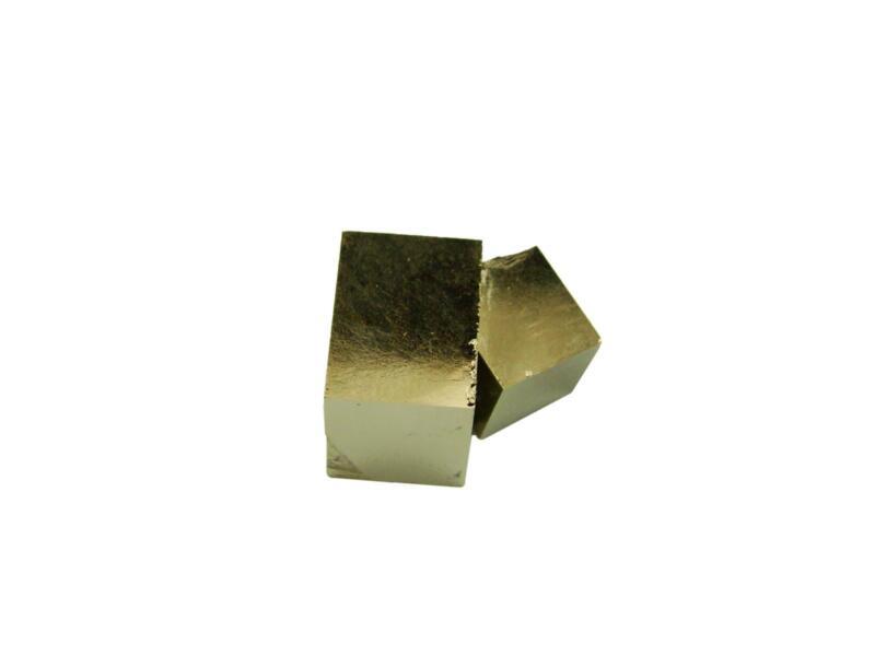 Navajun Spain Mine - Pyrite Cube Crystal With Display Case-#PC7
