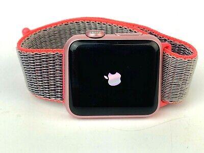 Apple Watch 1st Gen Rose Gold Aluminium Pink Sports Loop, 38mm GPS WARRANTY