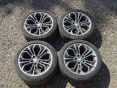 "BMW X1 E84 18""ALLOY WHEELS & TYRES  M SPORT STYLE 323  6789148 -6789147  2009-15"