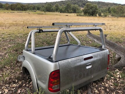 Hilux Ute tub,roller cover and racks Mudgee Mudgee Area Preview