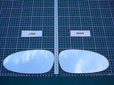 Außenspiegel Spiegelglas Ersatzglas Porsche 911 Cayman Boxster Li o Re asph Kpl