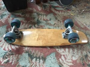 SECTOR 9 cruiser deck set up. Newly refinished+grip+hardware