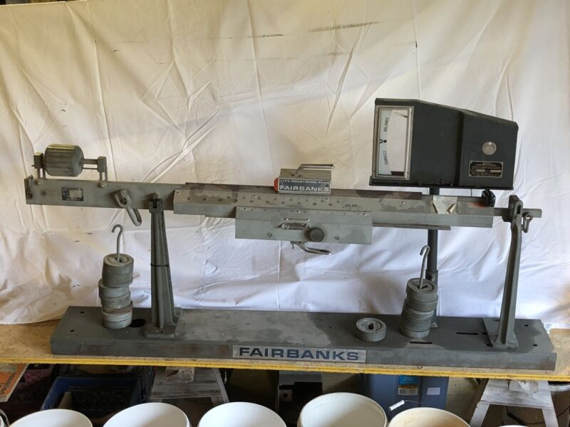 Fairbanks Farm Industrial Grain Truck Beam Scale vintage