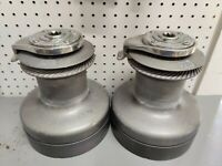 Pair Of Barient 28+ 3-speed Self Tailing Sailboat Winches