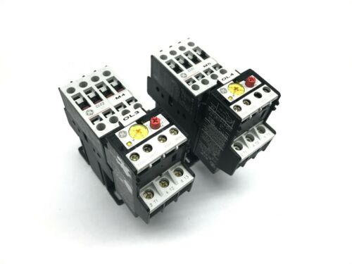 GE CL01D310T CL02D310T RT1P RT1N Contactors with 24VDC Coils