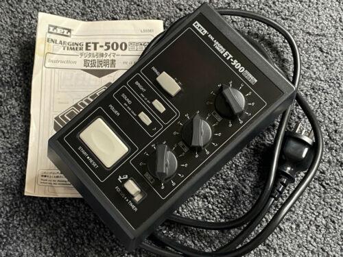 RARE 240VAC LPL ET-500 Digital Darkroom Enlarger Timer