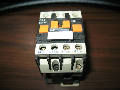 Telemecanique CA3 DN40 Control Relay With 240 Volt Coil