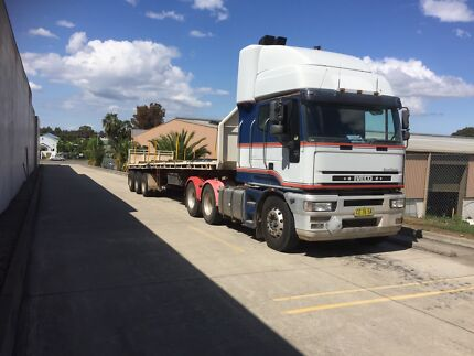 Truck and trailer Glendenning Blacktown Area Preview