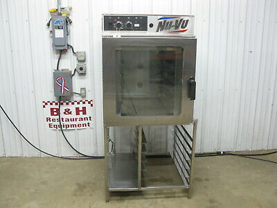 Nu-vu Full Size Electric Bakery Convection Oven Rm-5t W Stainless Steel Stand