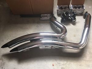 Vance and Hines Large Volume Shorty Exhaust Pipes Kellyville The Hills District Preview