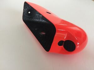 Formula 1 carbon fibre wing mirror housing - Virgin Racing - genuine F1 souvenir